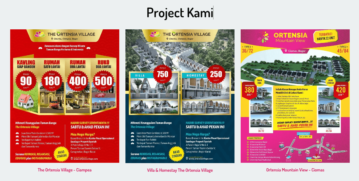 proyek developer property syariah