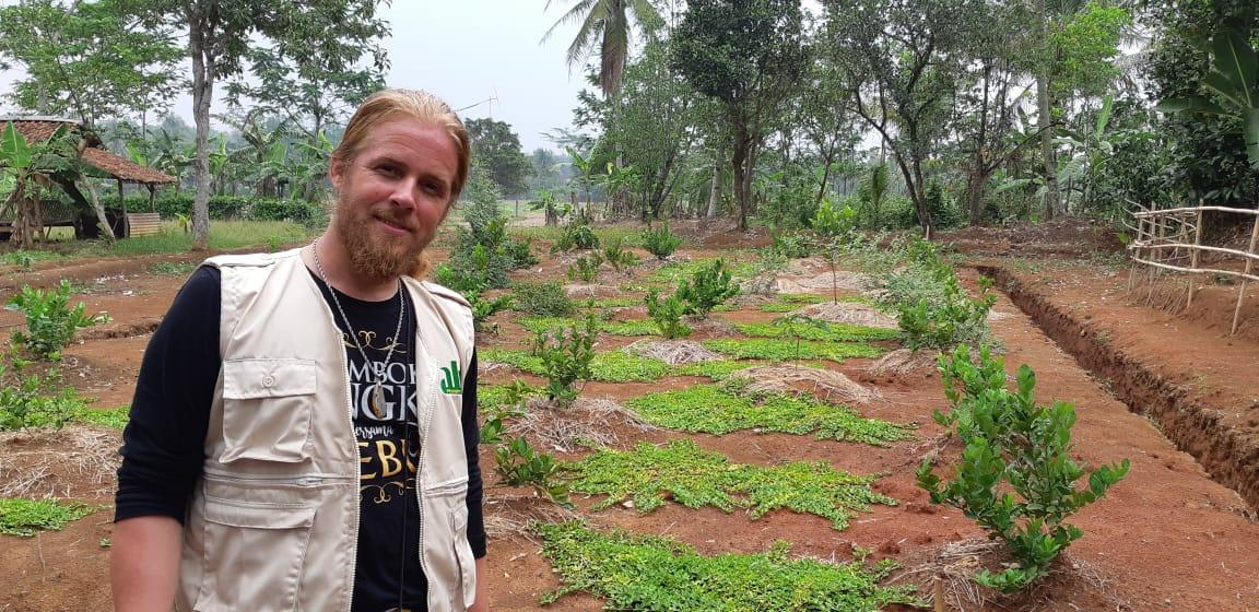 kavling contoh aljami bee garden