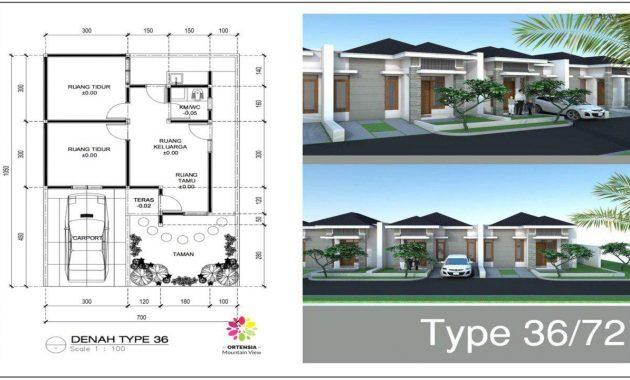rumah type 36/72 ortensia mountain view