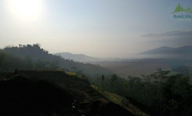 lokasi bukit uhud islamic village