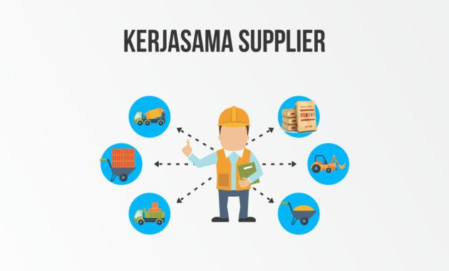 supplier proyek